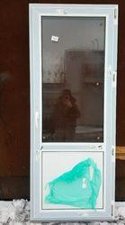 2000 (в) х 800 (ш) НОВАЯ дверь ПВХ № Д1 и много разных
