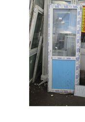 2260 (в) х 830 (ш) Б/У дверь пластиковая № Д447